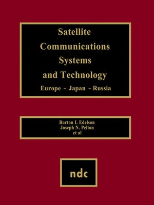 cover image of Satellite Communications Systems and Technology