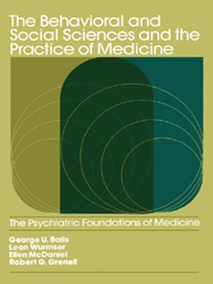 cover image of The Behavioral and Social Sciences and the Practice of Medicine