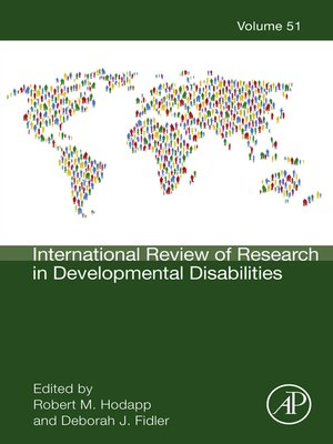 cover image of International Review of Research in Developmental Disabilities, Volume 51