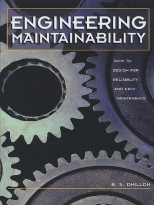 cover image of Engineering Maintainability