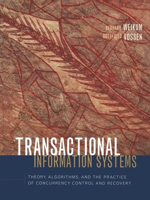 cover image of Transactional Information Systems