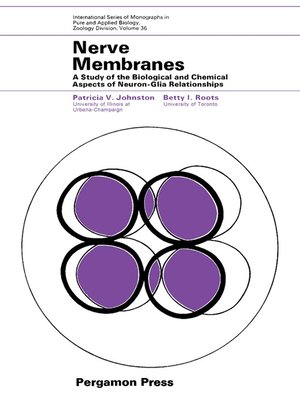 cover image of Nerve Membranes