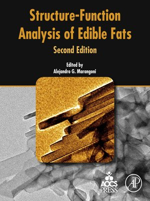 cover image of Structure-Function Analysis of Edible Fats