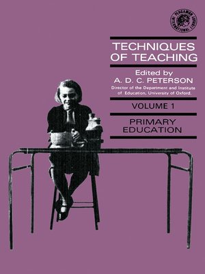 cover image of Techniques of Teaching