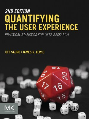 cover image of Quantifying the User Experience