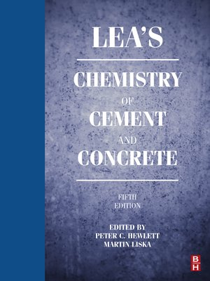 cover image of Lea's Chemistry of Cement and Concrete