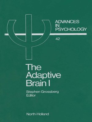 cover image of Advances in Psychology, Volume 42