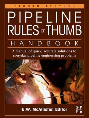 cover image of Pipeline Rules of Thumb Handbook