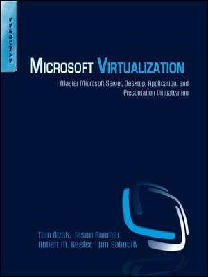 cover image of Microsoft Virtualization