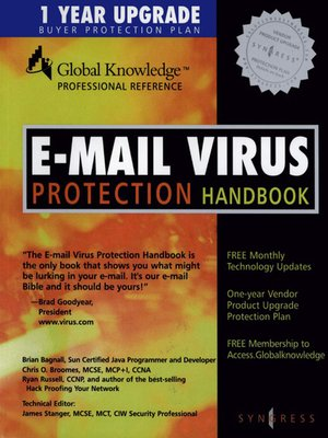 cover image of E-Mail Virus Protection Handbook