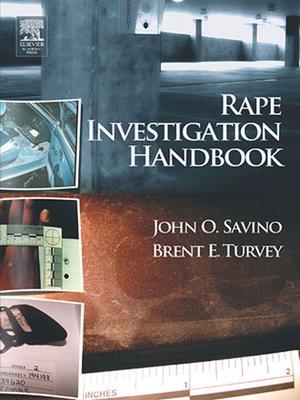 cover image of Rape Investigation Handbook