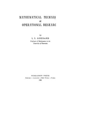 cover image of International Series in Pure and Applied Mathematics, Volume 38