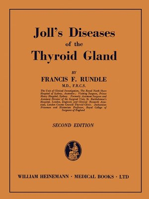 cover image of Joll's Diseases of the Thyroid Gland
