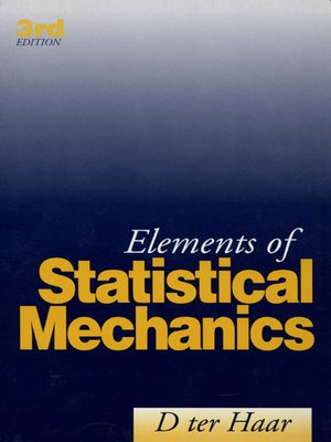 cover image of Elements of Statistical Mechanics