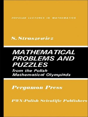 cover image of Mathematical Problems and Puzzles