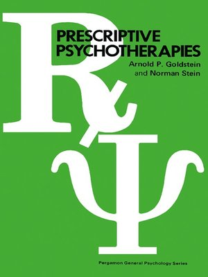 cover image of Prescriptive Psychotherapies
