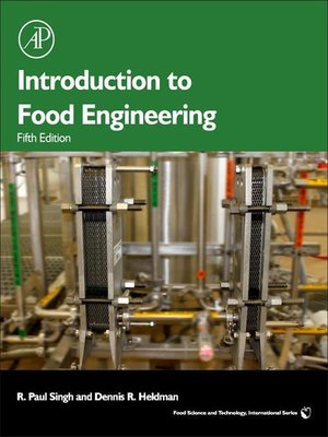 cover image of Introduction to Food Engineering