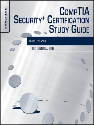 cover image of CompTIA Security+ Certification Study Guide