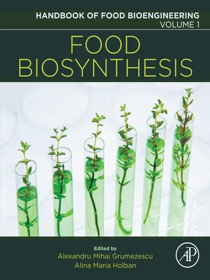 cover image of Handbook of Food Bioengineering, Volume 1