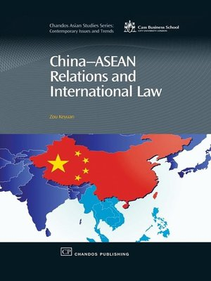 cover image of China-Asean Relations and International Law
