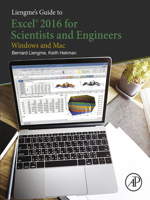 cover image of Liengme's Guide to Excel 2016 for Scientists and Engineers