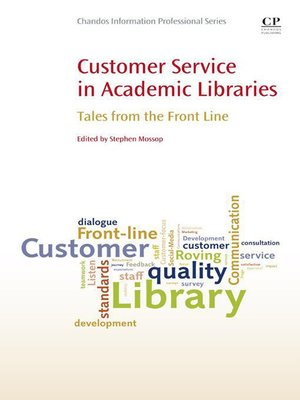 cover image of Customer Service in Academic Libraries