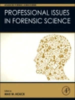 cover image of Professional Issues in Forensic Science