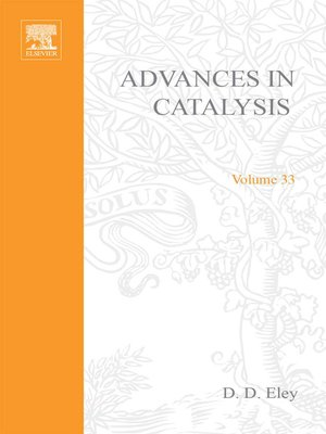 cover image of Advances in Catalysis