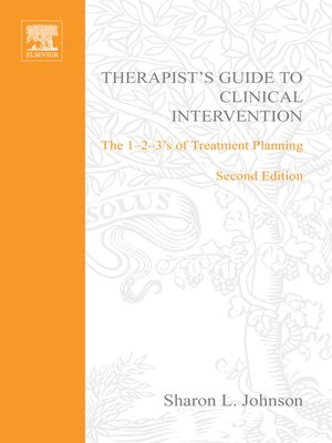 cover image of Therapist's Guide to Clinical Intervention