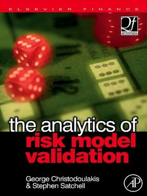 cover image of The Analytics of Risk Model Validation