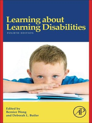 cover image of Learning About Learning Disabilities