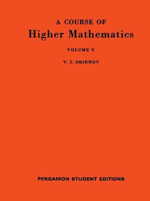 cover image of International Series in Pure and Applied Mathematics, Volume 62