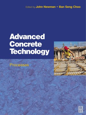 cover image of Advanced Concrete Technology 3