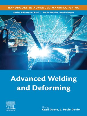 cover image of Advanced Welding and Deforming