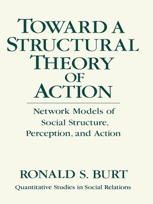 cover image of Toward a Structural Theory of Action