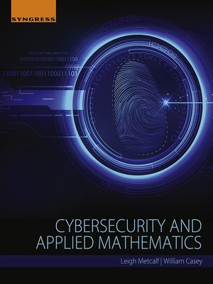cover image of Cybersecurity and Applied Mathematics