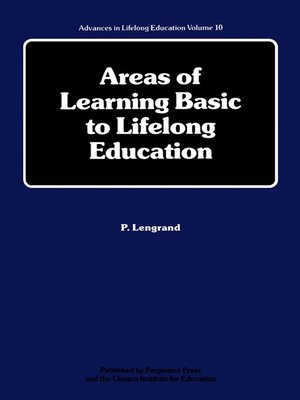 cover image of Advances in Lifelong Education, Volume 10