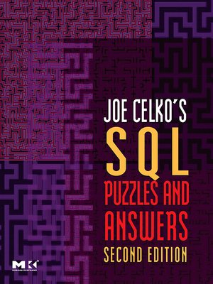 cover image of Joe Celko's SQL Puzzles and Answers