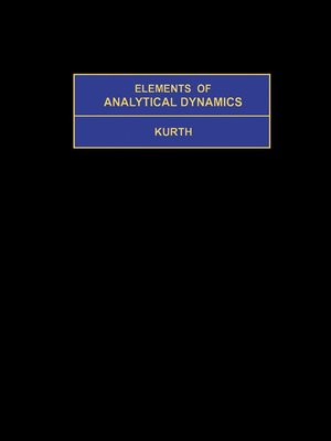 cover image of Elements of Analytical Dynamics