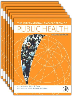 cover image of International Encyclopedia of Public Health