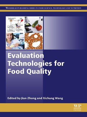 cover image of Evaluation Technologies for Food Quality