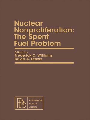 cover image of Nuclear Nonproliferation