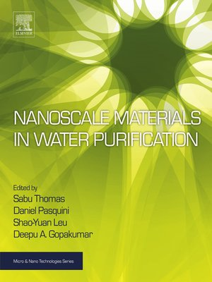 cover image of Nanoscale Materials in Water Purification