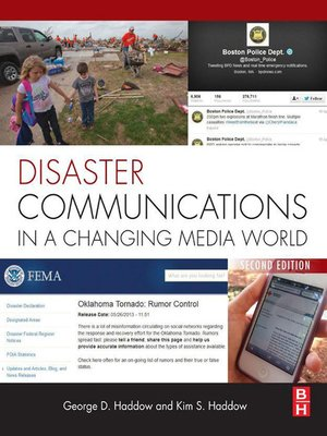 cover image of Disaster Communications in a Changing Media World