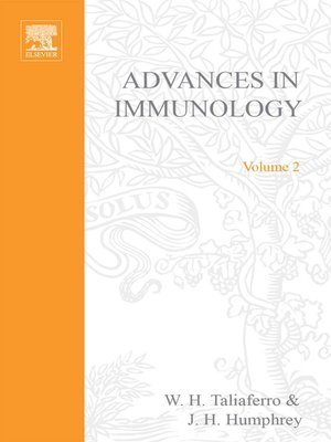 cover image of Advances in Immunology, Volume 2
