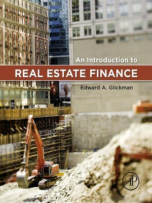 cover image of An Introduction to Real Estate Finance