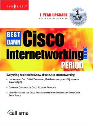 cover image of The Best Damn Cisco Internetworking Book Period