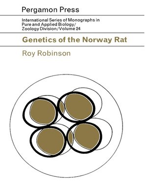cover image of Genetics of the Norway Rat