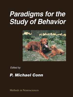 cover image of Paradigms for the Study of Behavior