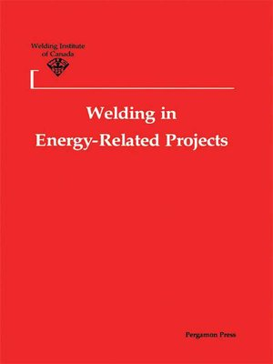cover image of Welding in Energy-Related Projects
